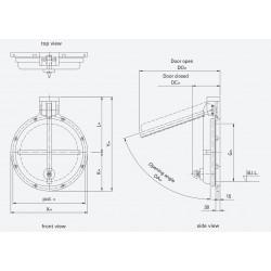 HDPE Flap valve PTK-G