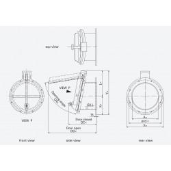 HDPE Flap Valves PTK-A