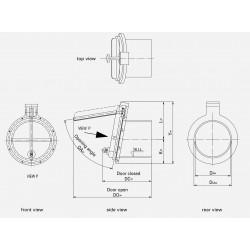 HDPE Flap valve PTK-P