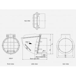 HDPE Flap valve PTK-BS