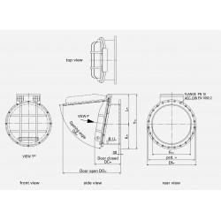 HDPE Flap valve PTK-F