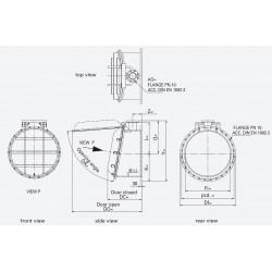 HDPE Flap valve PWK-F