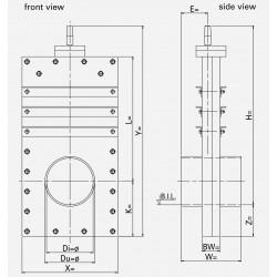 HDPE Pipe valve PLA-F
