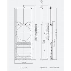 HDPE Schuifafsluiter PCA-G