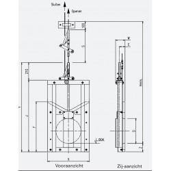HDPE  Cable valve PRHA-G