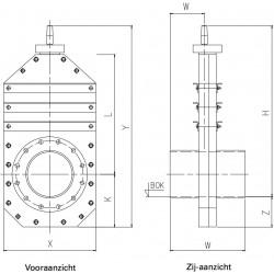 HDPE Leidingafsluiter PLA-P