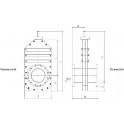 HDPE Leidingafsluiter PLA-F